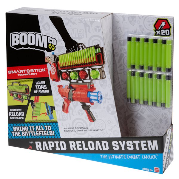 МАТТЕЛ. BOOMCO RAPID RELOADER