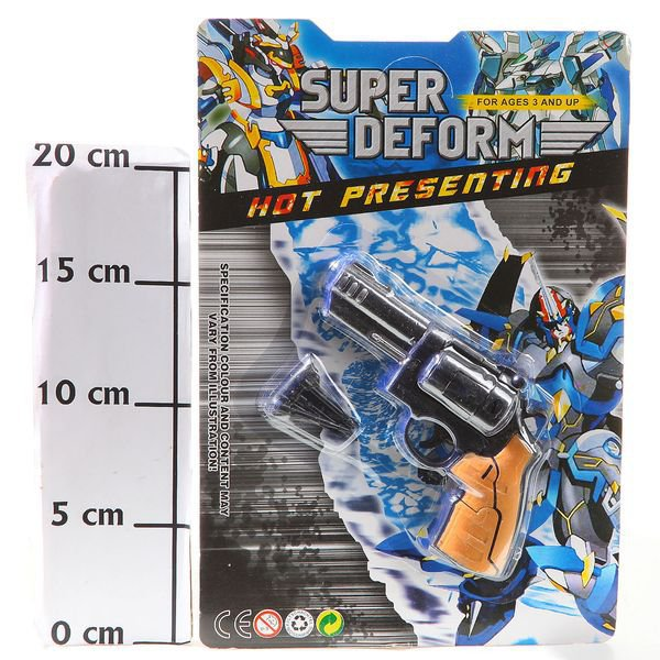 Трансформер робот-пистолет Super Deform, CRD 25,5*17 см., арт. 55-15