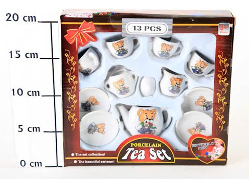 ������ ����� �������� (13��) ��� 22*20*4,5��, Porcelain Tea Set, ���.158-8