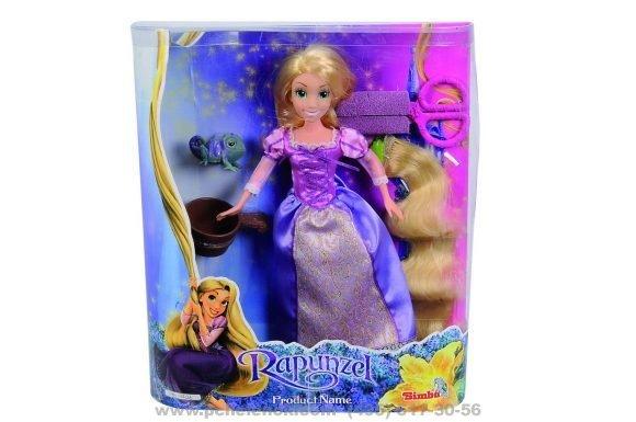 Кукла рапунцель набор для волос