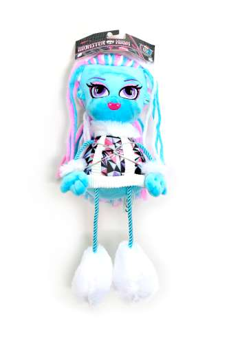 1toy Monster High кукла плюш.Эбби,35 см,пакет