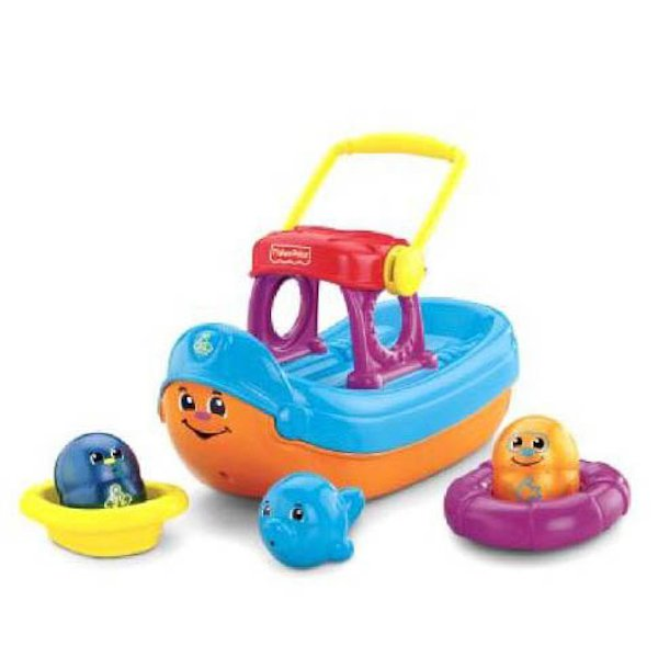 МАТТЕЛ. FISHER-PRICE® ЛОДКА ДЛЯ КУПАНИЯ