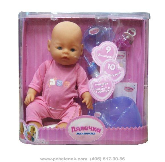 Ляля маленькая кукла инструкция видео