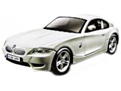 Bburago  1:32 AM STREET FIRE BMW  M COUPE