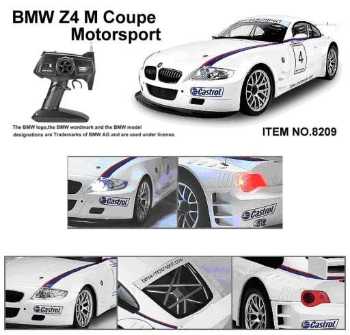 ���������������� ������ ������ BMW Z4 M Coupe Motorsport RC Car (120 scale)