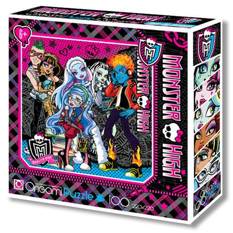 Пазл 100A. 00193 Monster High ORIGAMI