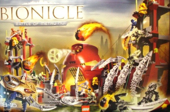 8759  Лего Бионикл  Битва за Метру Нуи  (Lego 8759 Bionicle ) Battle of Metru Nui