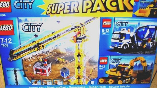 LEGO  66194 ���������� ����� CITY 4�1 (���� ���� 4 in 1)66194