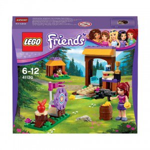 Конструктор lego friends спортивный лагерь: стрельба из лука в кор.