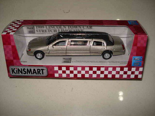 Kinsmart ���. ������� 7 1999 Lincoln Town Car Stretch Limousine ���. ����.