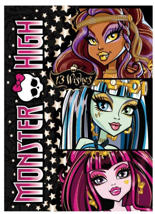 MONSTER HIGH Блокнот А5,60 листов, спираль, клетка