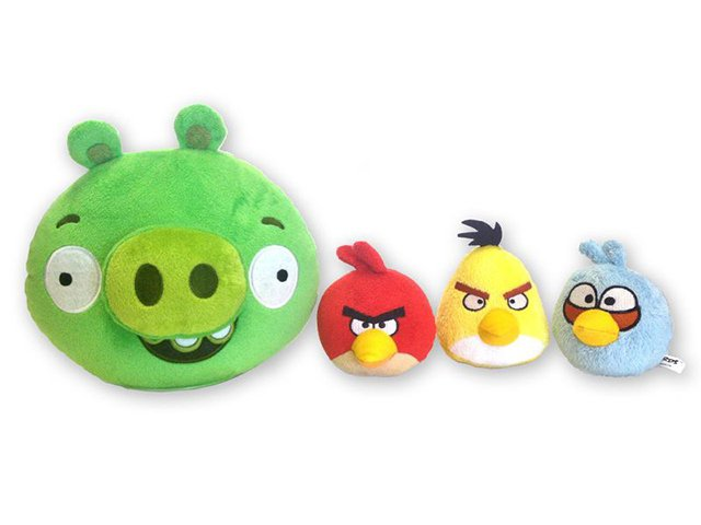 ������������� ���� Angry Birds 1 ������ (18��) � ������, 3 ������ (7,5��, �������, ������, �����), �