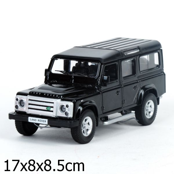 МАШИНА ТЕХНОПАРК МЕТАЛЛ. ИНЕРЦ. LAND ROVER DEFENDER СВЕТ+ЗВУК В РУСС. КОР. 12,5СМ