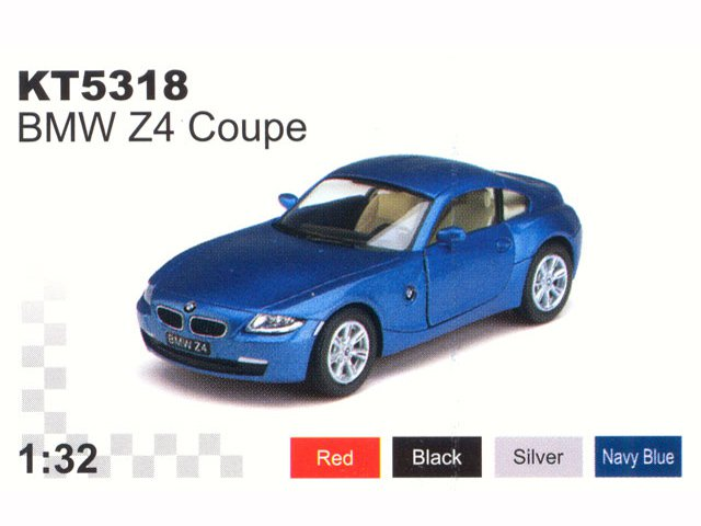 ������ 1:32  BMW Z4 Coupe 5318WKT, �����