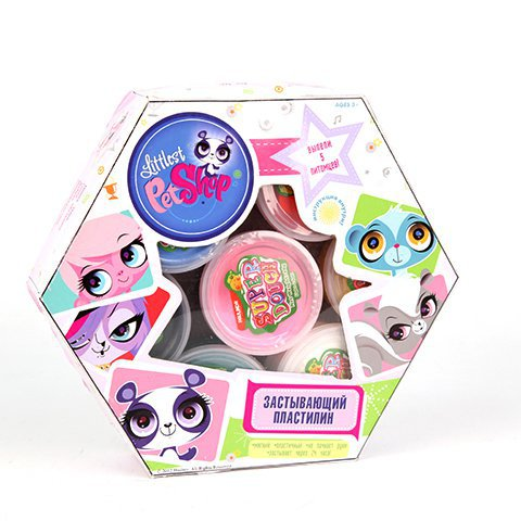 Пластилин 6623GT Littlest Pet Shop, цвет