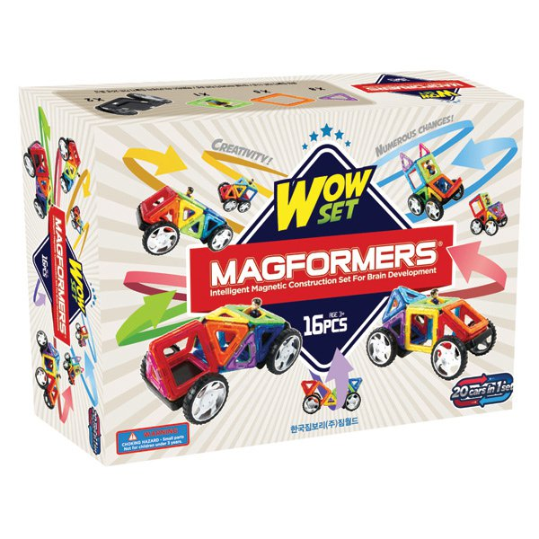 ��������� ����������� MAGFORMERS 63094 Wow set