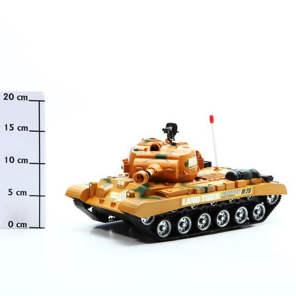Игруш.танк Land Tiger, PAC, арт.M26