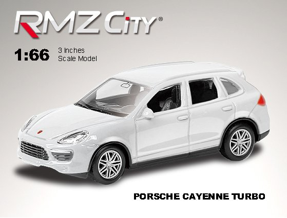 Метал. модель М1:64  RMZ CITY Porsche Cayenne Turbo, арт.344020.