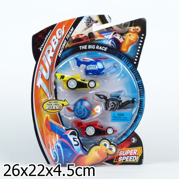 MATTEL. TURBO DREAMWORKS ����� �� 5-� ������� ������ �� �� �� ����. 26*22*4,5�� � ���.8���