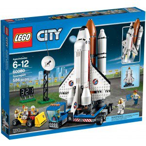 Конструктор lego city space port космодром в кор.