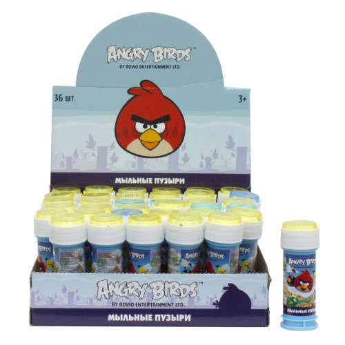 1toy Angry Birds classic, мыл.пуз., 50мл, в д.б.