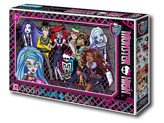 Пазл 160A. 00220 Monster High ORIGAMI