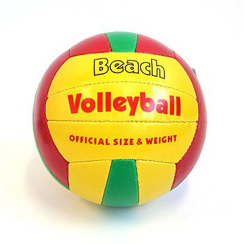 Мяч вол.,280300г, PVC,matt,1cot+1pol,BEACH VOLLEYBALL.