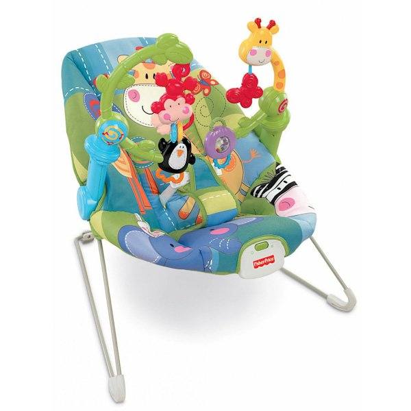 МАТТЕЛ. FISHER-PRICE® КРЕСЛО-КАЧАЛКА РАСТИ И ПОЗНАВАЙ