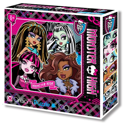 Пазлы 100 Monster High 00194