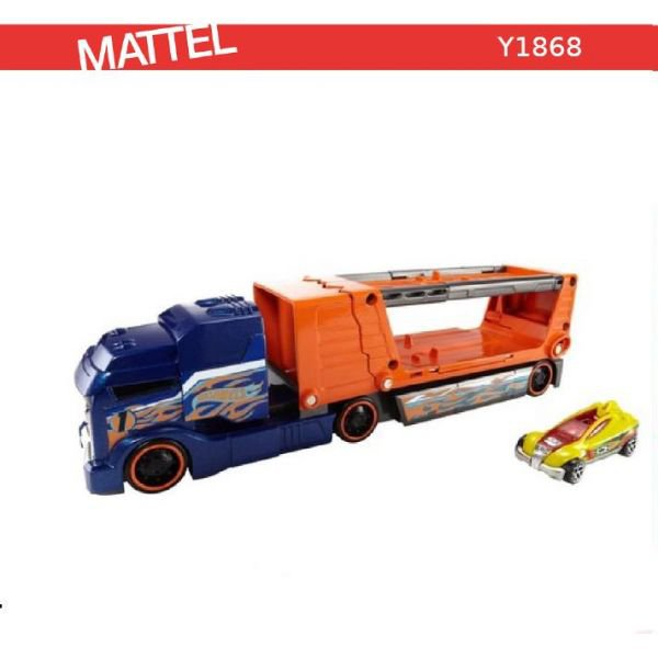МАТТЕЛ. HOT WHEELS®  ТРЕЙЛЕР КРАШ ТЕСТ