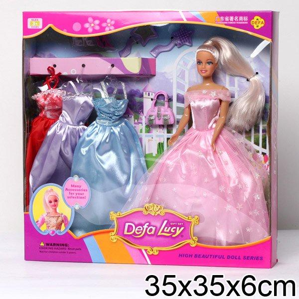 Как сшить бальное платье для куклы барби