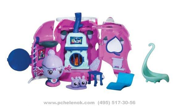 Купить бакуганов для девочек Игрушка ZOOBLES Набор Зимний дом З