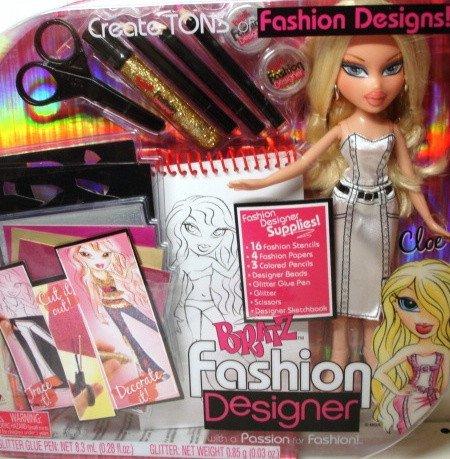 Кукла братц bratz модный дизайнер хлоя
