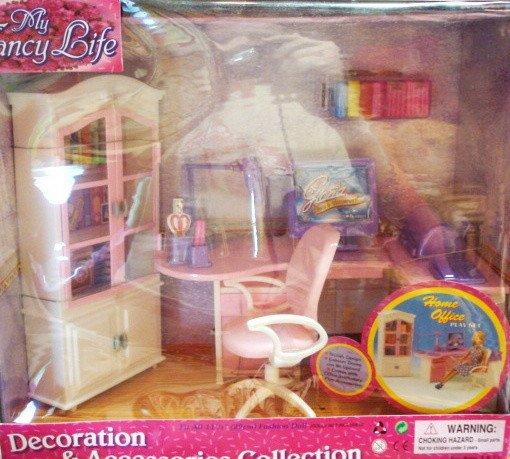 Кукольный домик для барби мебель для