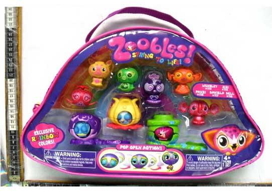 Купить бакуганов для девочек Игрушки Zoobles в сумочке