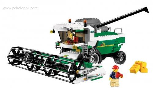 Заказать игрушку 7636 лего сити комбайн