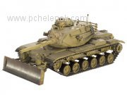 Танк M60A3 with M9 bulldozer kit; 1:72. Фото 3