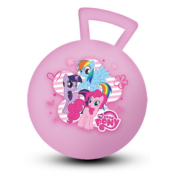 МЯЧ ИГРАЕМ ВМЕСТЕ MY LITTLE PONY 55СМ С РУЧКОЙ, ЦВЕТ В АССОРТ. В КОР.. Фото 1