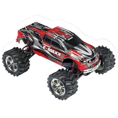 Монстр 110 Traxxas E-Maxx 2.4GHz RTR w2 7-Cell Batteries. Фото 2