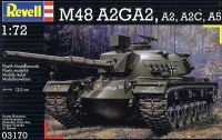 Танк M48 A2A3 (1:72) Revell. Фото 1