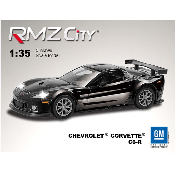 Метал. модель М1:64  RMZ CITY JUNIOR Chevrolet Corvette C6.R, арт.344005S.