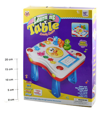 Игр.пласт. BOX 32*32*26 см Learning Table, муз. арт 668-62
