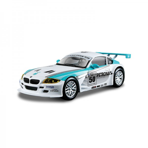 1:43 BB Машина Ралли BMW Z4 M Coupe металл.