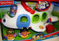 Fisher Price Litltle People Самолет муз. 1-5 лет