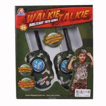 Игруш.рация 2шт Walkie Talkie Military, 24*20*5,5см, BOX, арт.008A