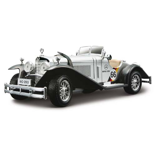 Машинка  Mercedes- Benz ssk масштаб 1:24 18-22021