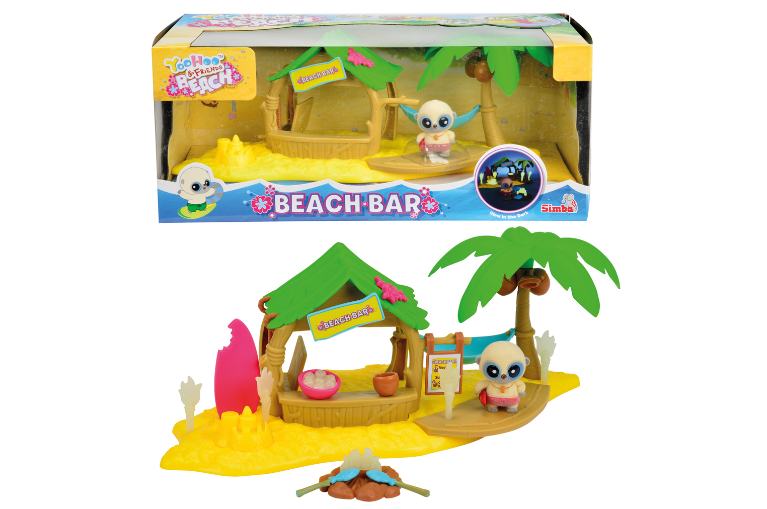 Игровой набор YooHoo&Friends Beach с аксесс., 612