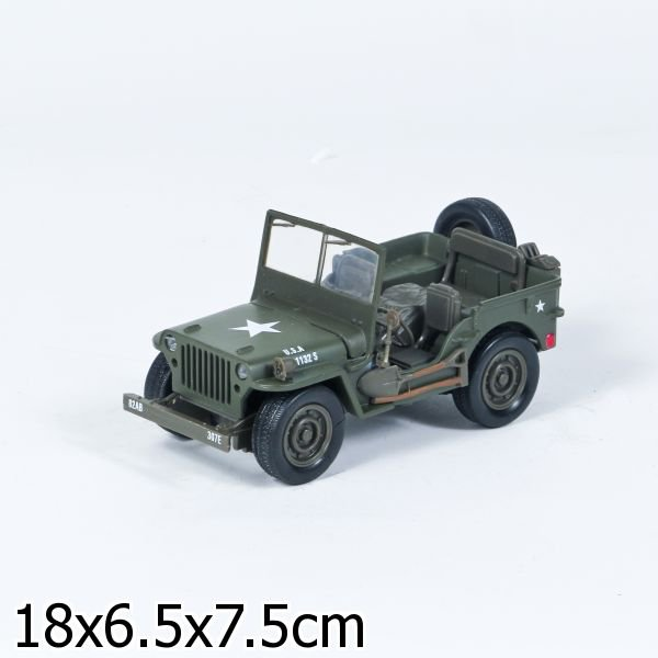 МАШИНА МЕТАЛЛ. JEEP WILLYS 1:32 В КОР.