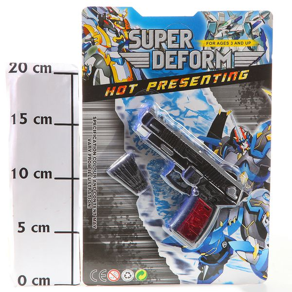 Трансформер робот-пистолет Super Deform, CRD 25,5*17 см., арт. 55-16