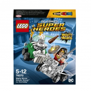 Lego super heroes mighty micros: чудо-женщина против думсдэя,